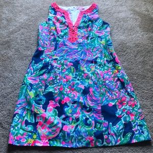New Lilly Pulitzer floral shift dress 2